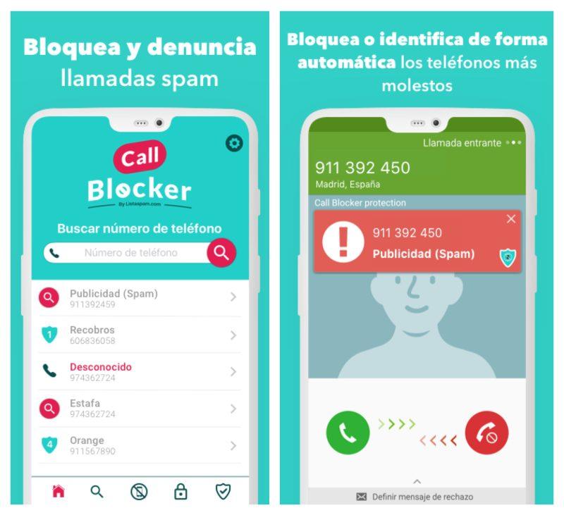 Call Blocker aplicación