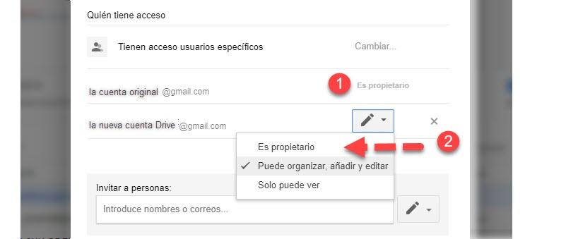 Cómo transferir archivos de una cuenta de Google Drive a otra 3