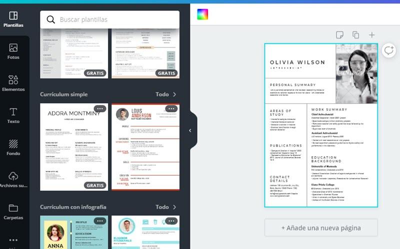 5 plataformas para crear un CV online 1