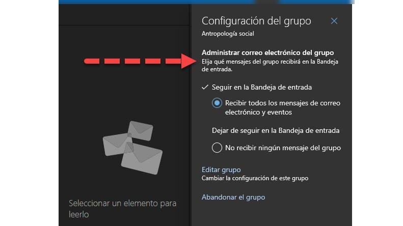 Cómo crear grupos de trabajo en Outlook 4