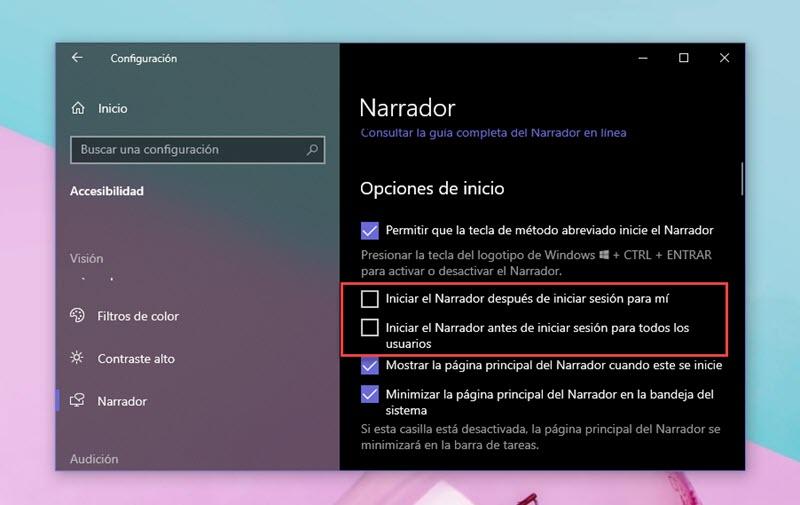Cómo utilizar el Narrador de Windows 10 2