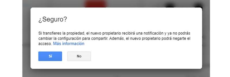 Cómo transferir archivos de una cuenta de Google Drive a otra 4