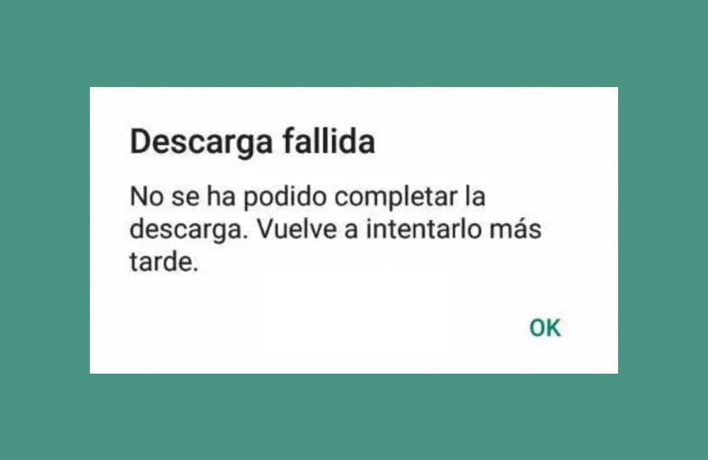 Por qué WhatsApp no me deja enviar ni descargar fotos ni audios 1