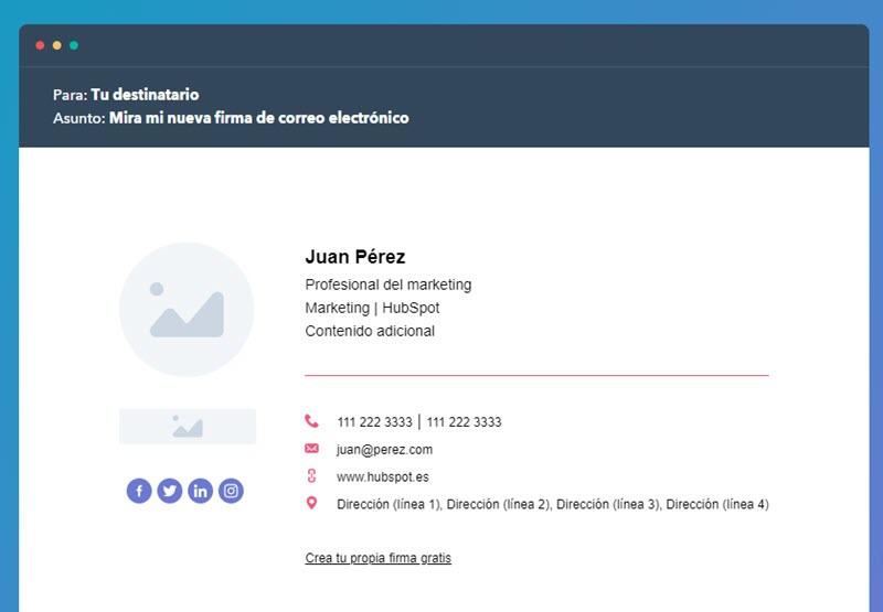 5 herramientas web para crear firmas de correo 2
