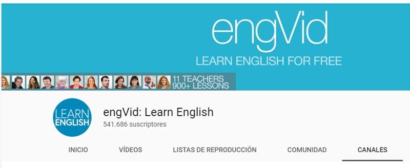 10 chaînes YouTube pour apprendre l'anglais 2