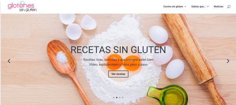 Web Glotones sin gluten