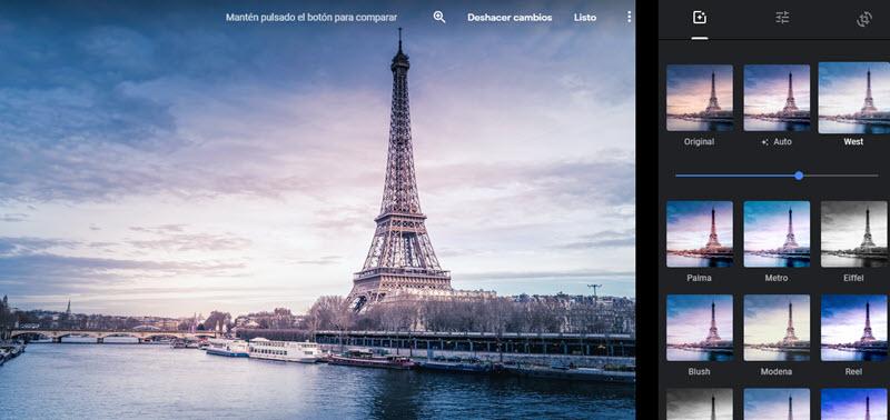 5 herramientas web para aplicar filtros a las fotografías 4