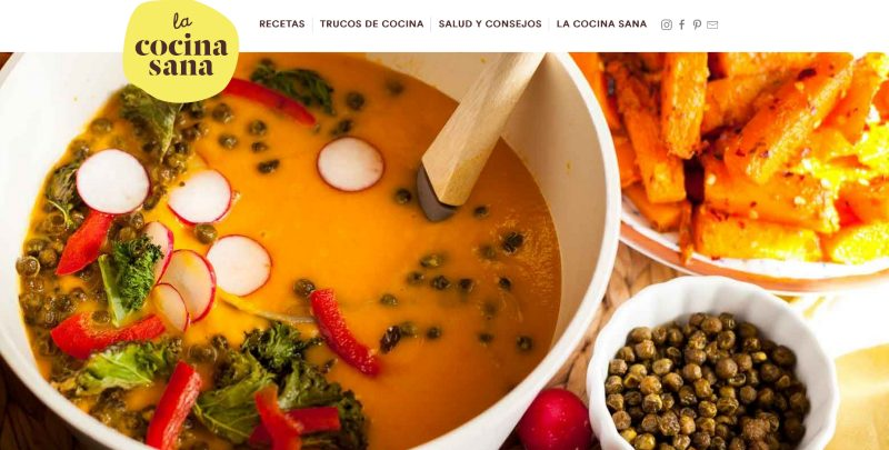 Web La cocina sana