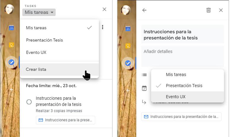 Cómo crear una lista de tareas con correos de Gmail 4