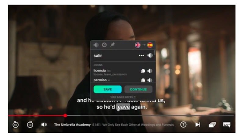 5 extensiones para aprender idiomas con Netflix 4