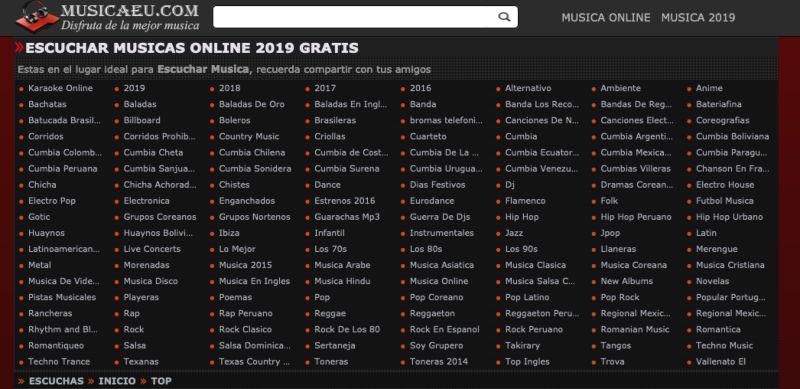 Musicaeu web