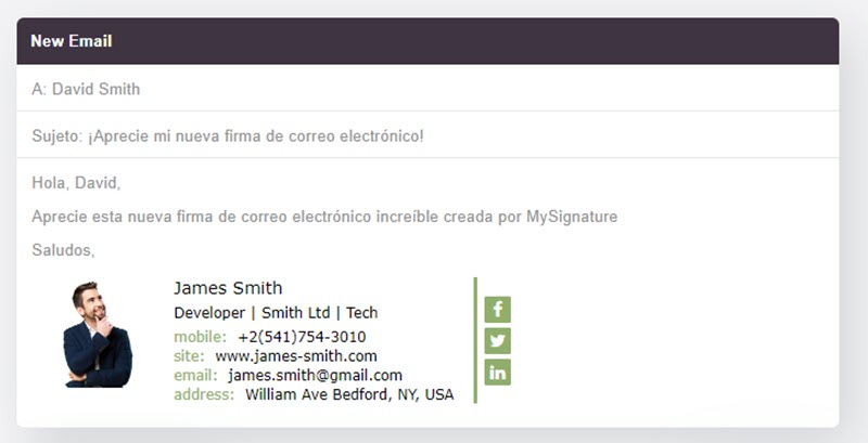 5 herramientas web para crear firmas de correo 3