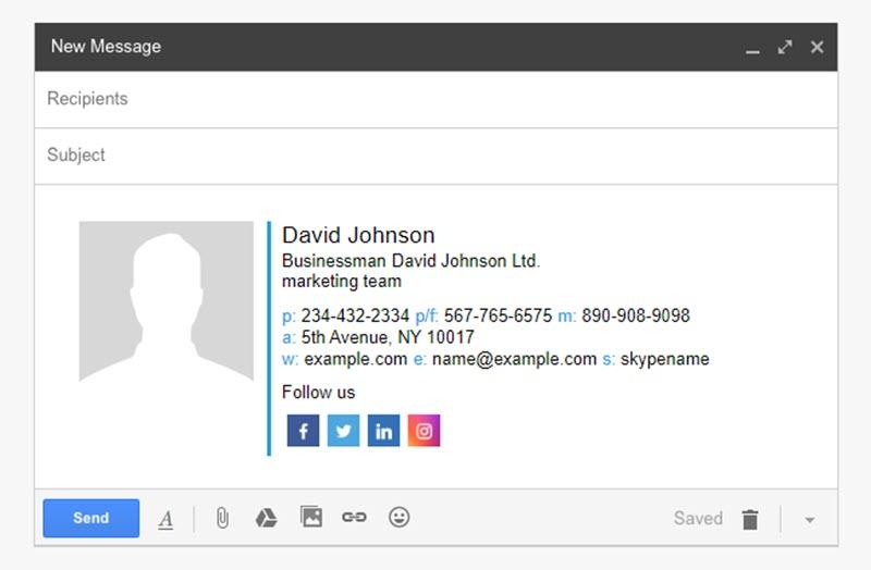 5 herramientas web para crear firmas de correo 5