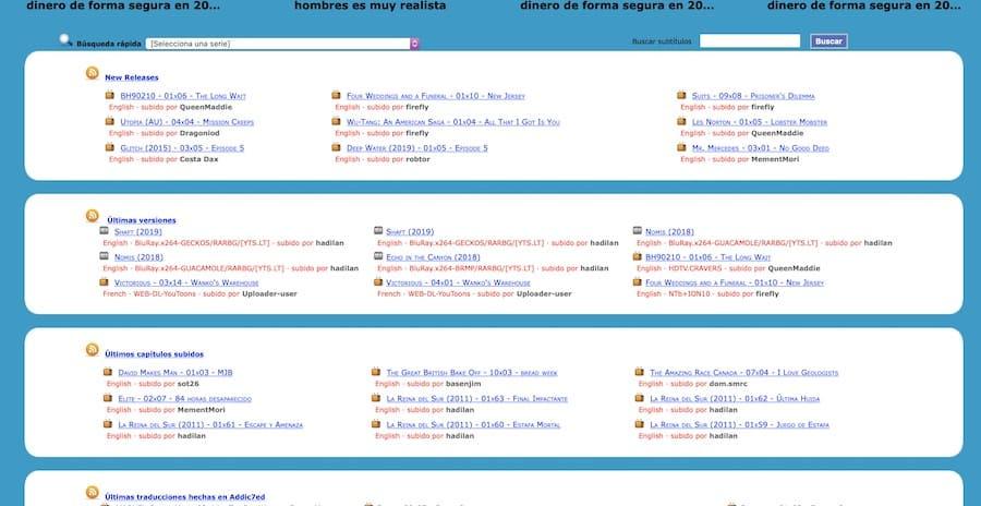 paginas subtitulos espanol 4