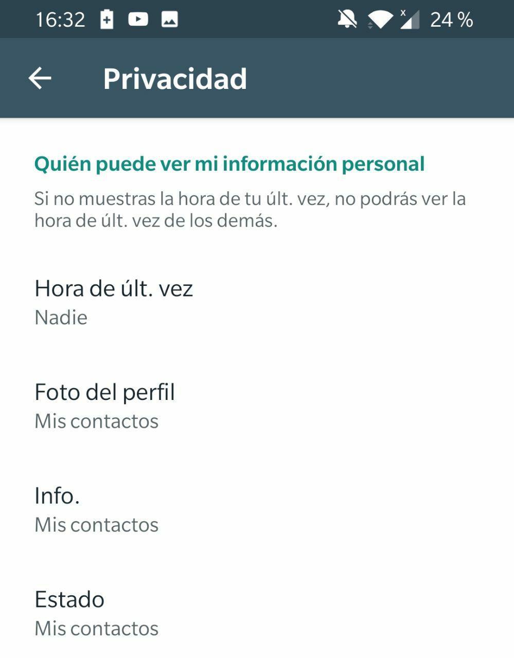 problema whatsapp foto perfil 2