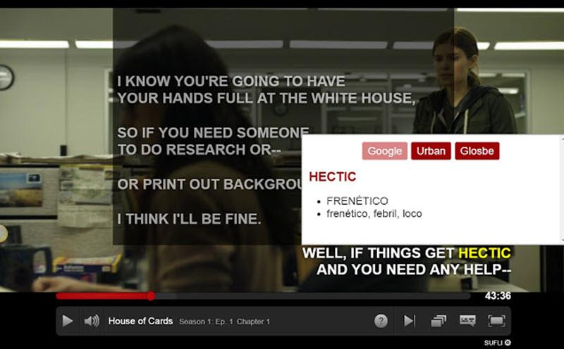 5 extensiones para aprender idiomas con Netflix 5