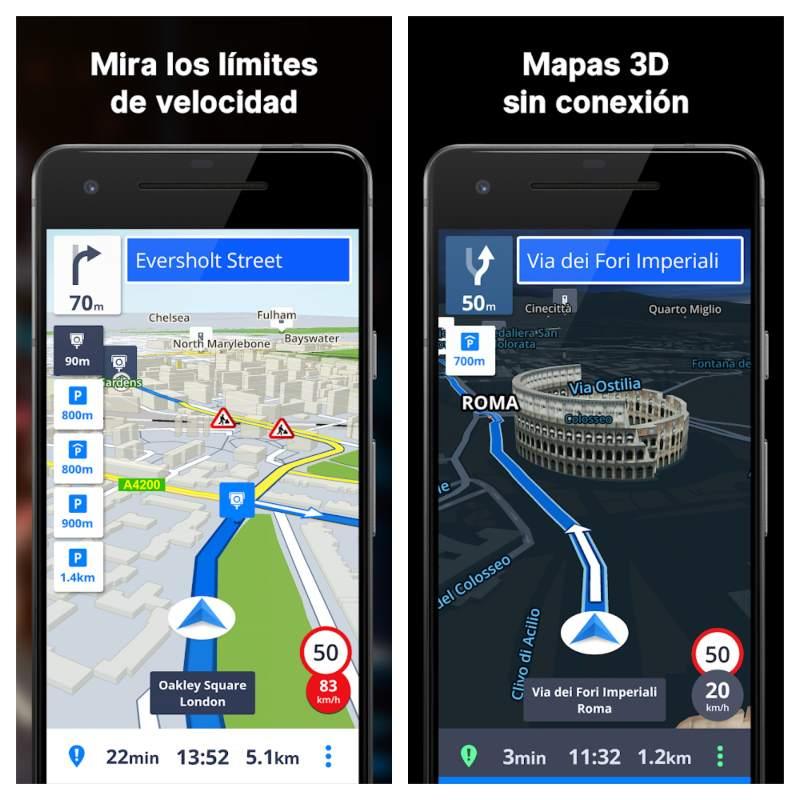Sygic GPS app