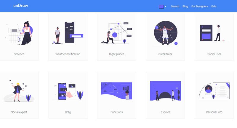 5 recursos web para descargar ilustraciones gratuitas 4