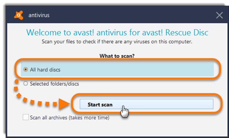 10 antivirus para arrancar desde USB cuando Windows no funciona 4