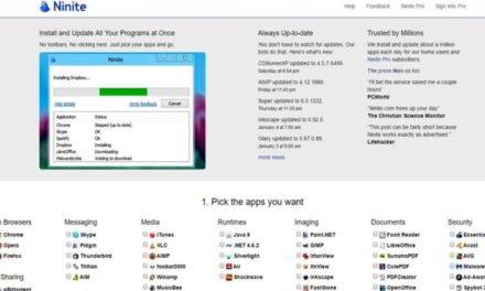Cómo instalar de forma automática tus programas favoritos con Ninite