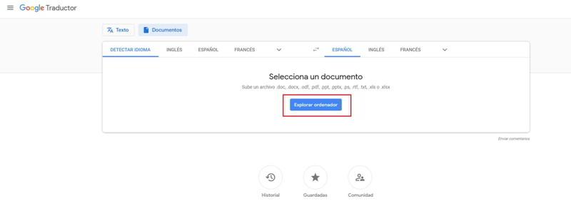 Como traducir un PDF de Inglés a Español 2