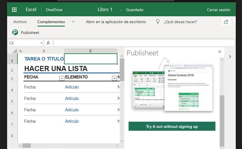 Cómo transformar hojas de Excel en páginas web 2