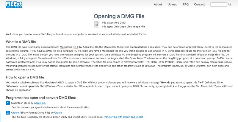 Filext abrir archivos desconocidos