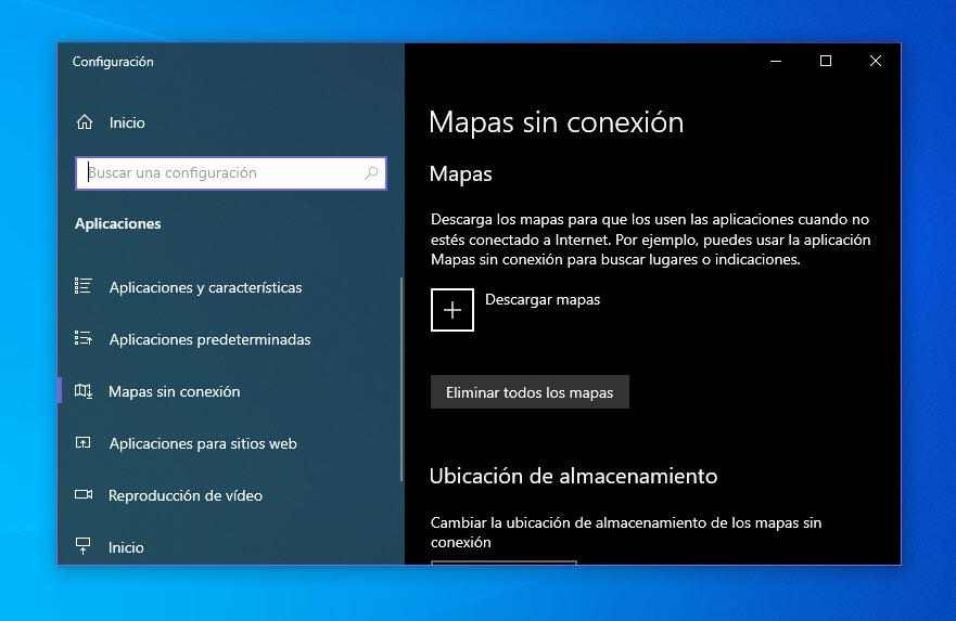 Cómo descargar mapas para ver sin conexión en Windows 10 2