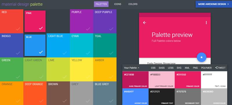 5 generadores online gratuitos para crear paletas de colores 6