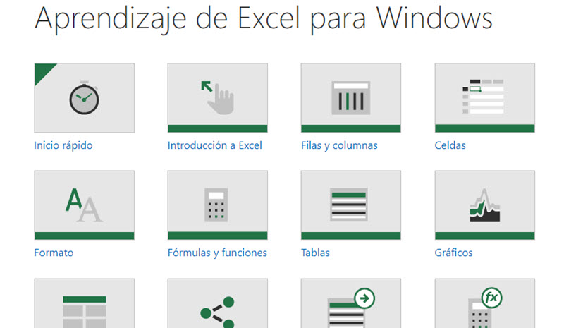 Curso Excel Microsoft