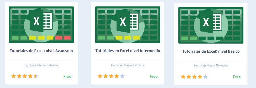 10 cursos gratuitos para aprender Excel 2