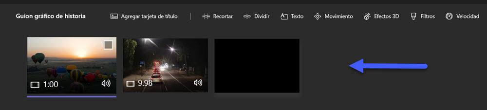 Cómo unir varios vídeos en uno en Windows 10 5