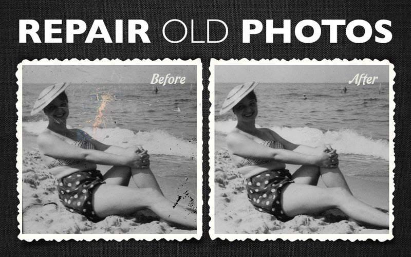 5 herramientas para restaurar fotografías dañadas 2