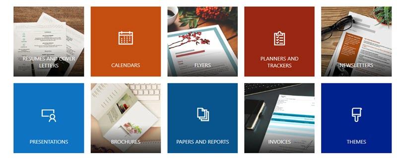 5 plataformas web para descargar plantillas de Word 2