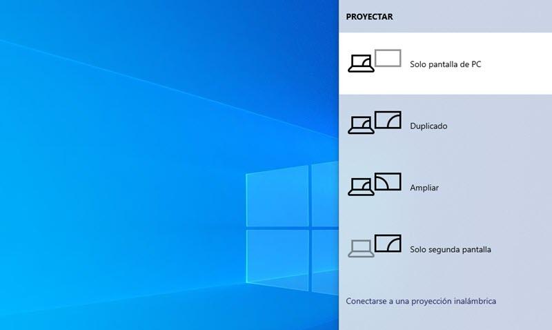 Cómo trabajar con múltiples pantallas en Windows 10 2