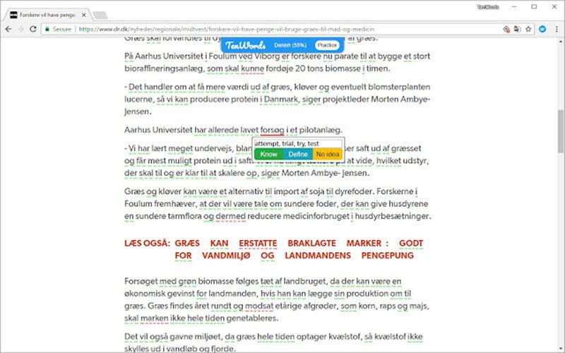 7 extensiones de Google Chrome para aprender inglés 4