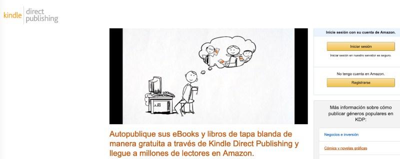 Amazon publicar ebooks