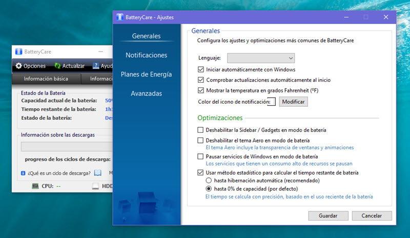 5 herramientas para comprobar el estado de la batería en Windows 4