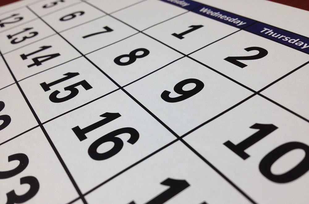 Cómo hacer un calendario 2020 en Word 1