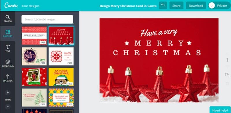 5 herramientas web para crear y enviar tarjetas navideñas 2