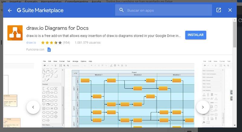 Cómo crear diagramas y mapas mentales con Google Docs 5
