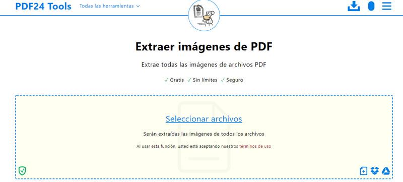 Cómo extraer imágenes de un PDF 3