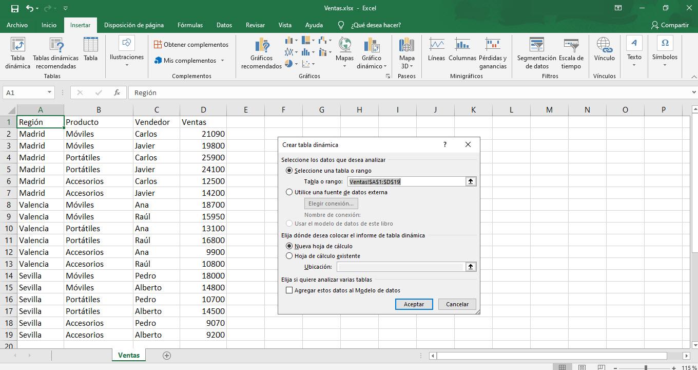 Cómo usar las tablas dinámicas de Excel 2