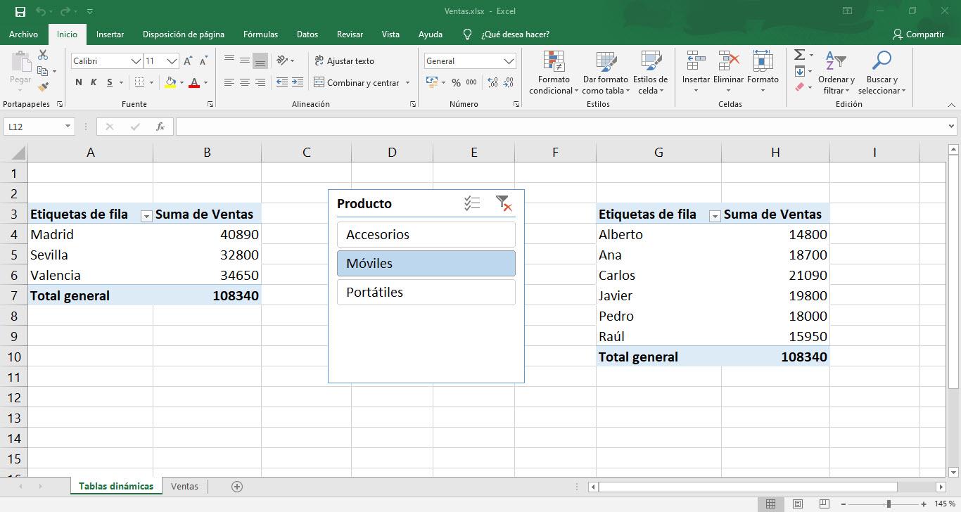 Cómo usar las tablas dinámicas de Excel 6