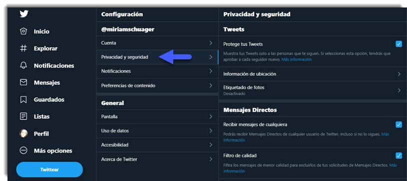 Cómo ocultar tu perfil de Facebook, Instagram y Twitter 3