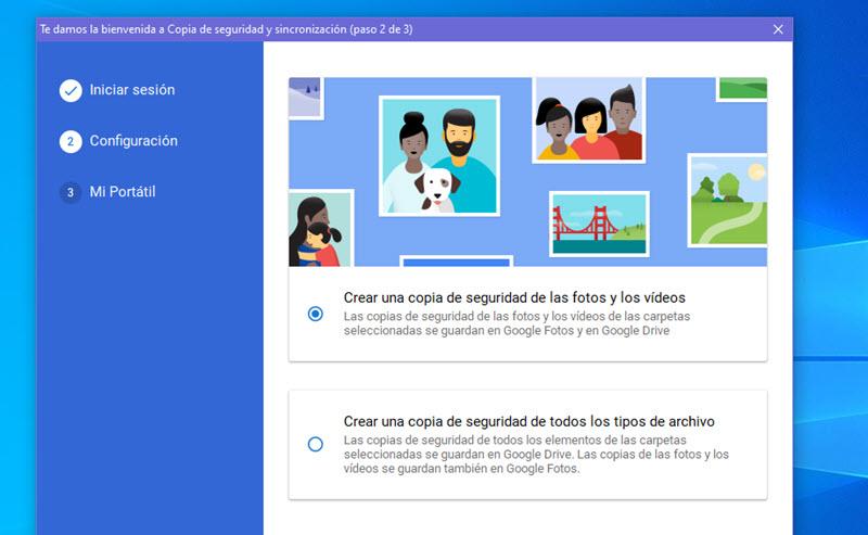 Cómo subir automáticamente las fotos del PC a Google Fotos 2