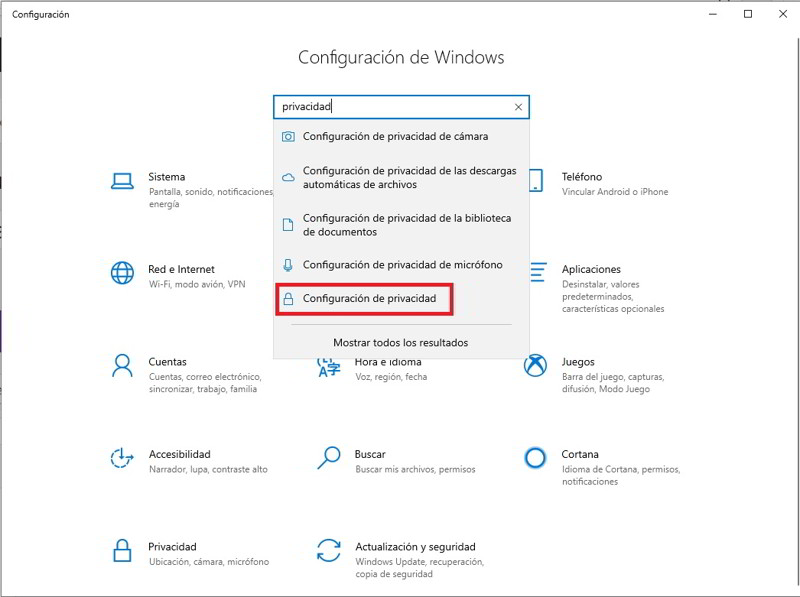 Desactiva Microsoft Edge en segundo plano 2
