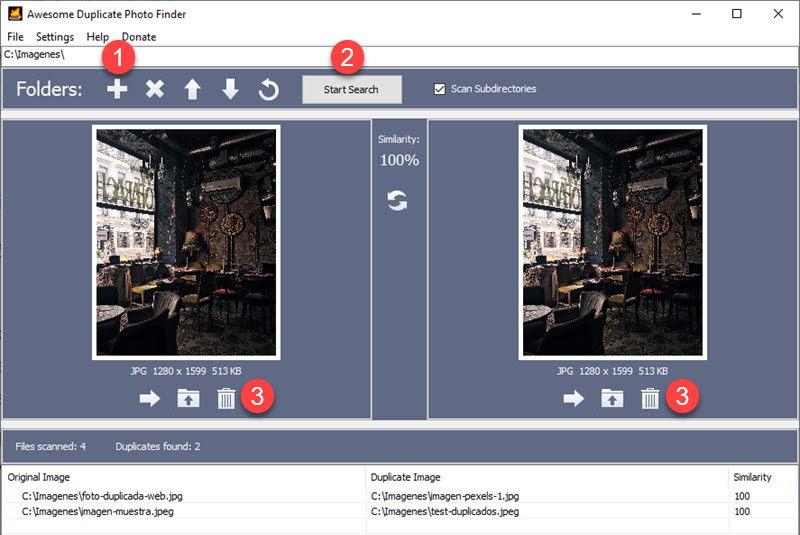 Cómo eliminar fotos duplicadas en Windows 10 4