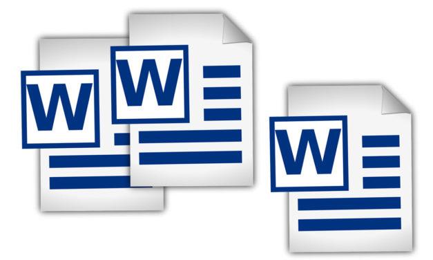 Cómo reorganizar páginas en Word