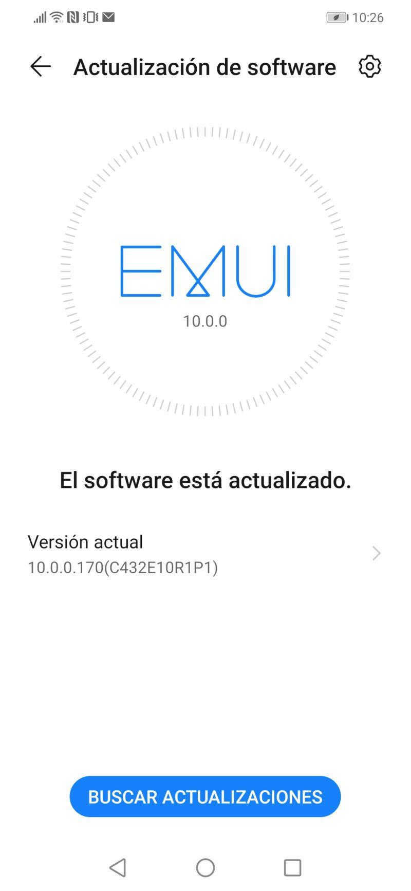 Android10 actualización